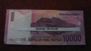 SERIBU RUPIAH